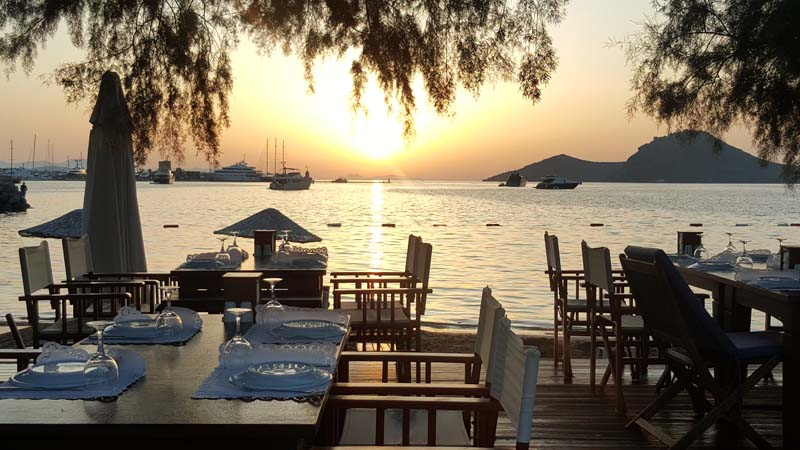Yalikavak bodrum lovely painting holidays